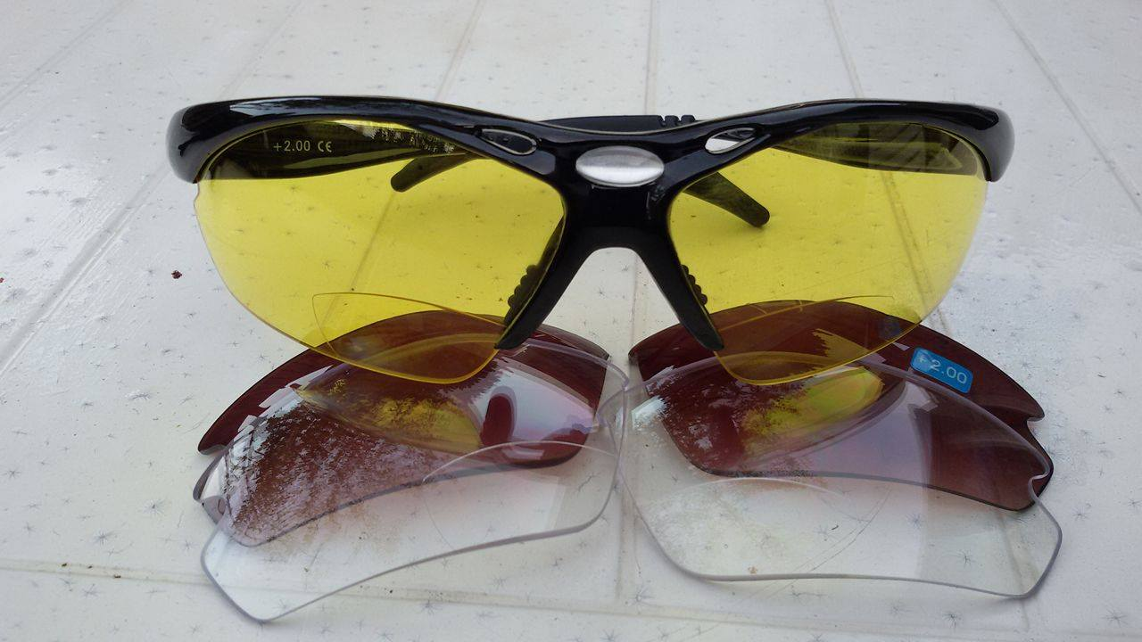 De Eagle: bifocale zonnebril met sterkte
