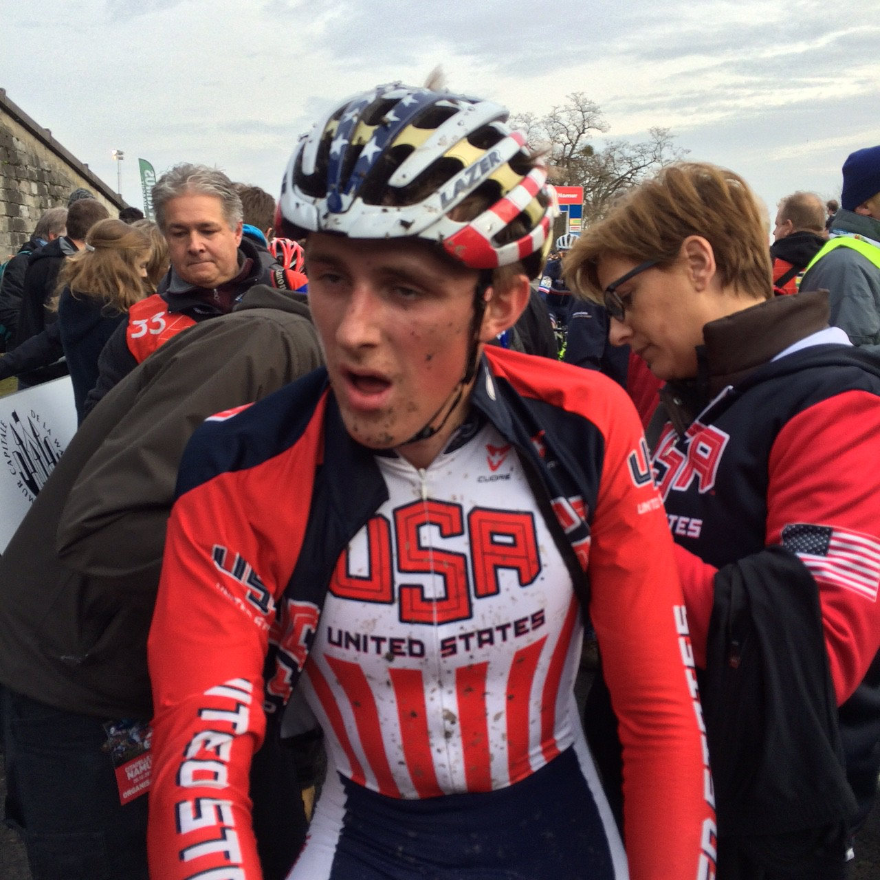 Solid performance from the American riders at WC Zolder