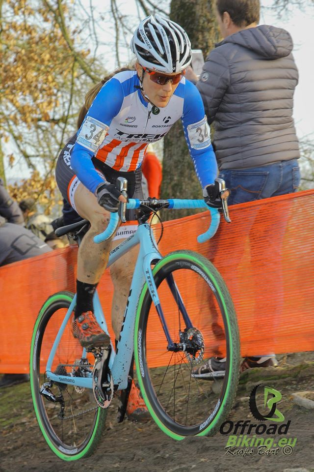 Katie Compton debuteert in Superprestige in Zonhoven