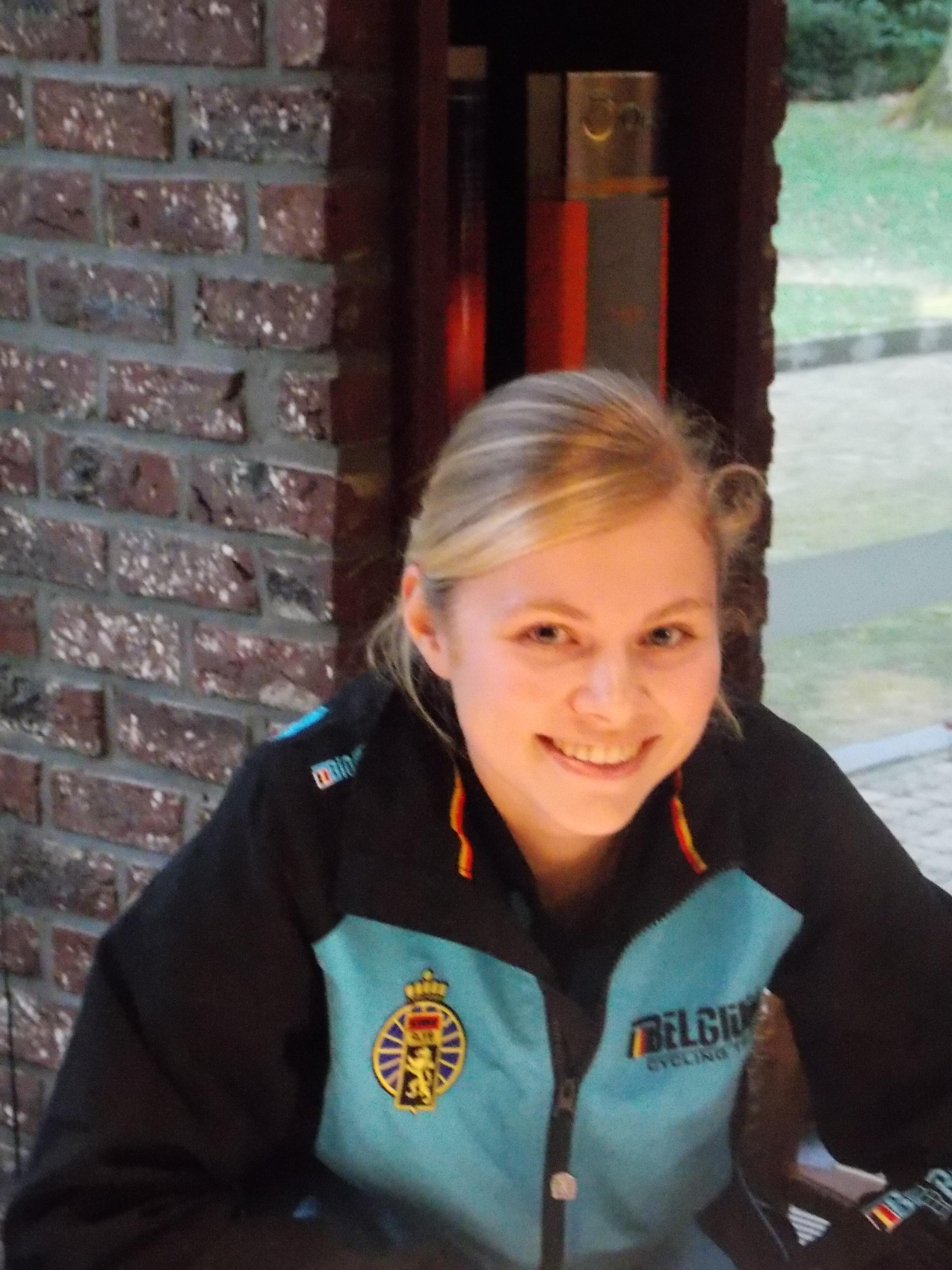 Laura Verdonschot na haar WK veldrijden Zolder(U23) zaterdag
