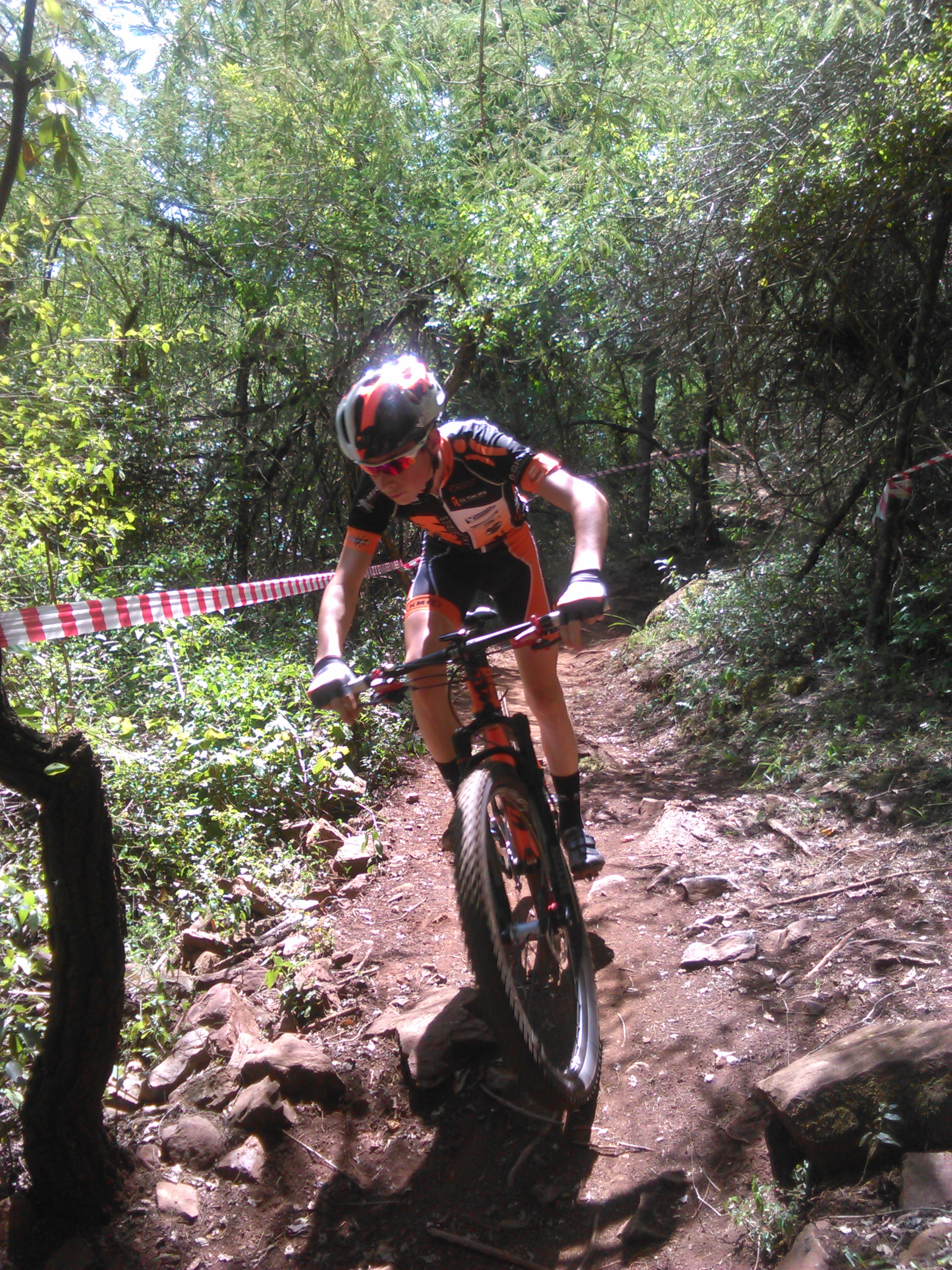 KTM Bike Vision UCI team naar UCI World Junior series Mankele bike Park South Africa