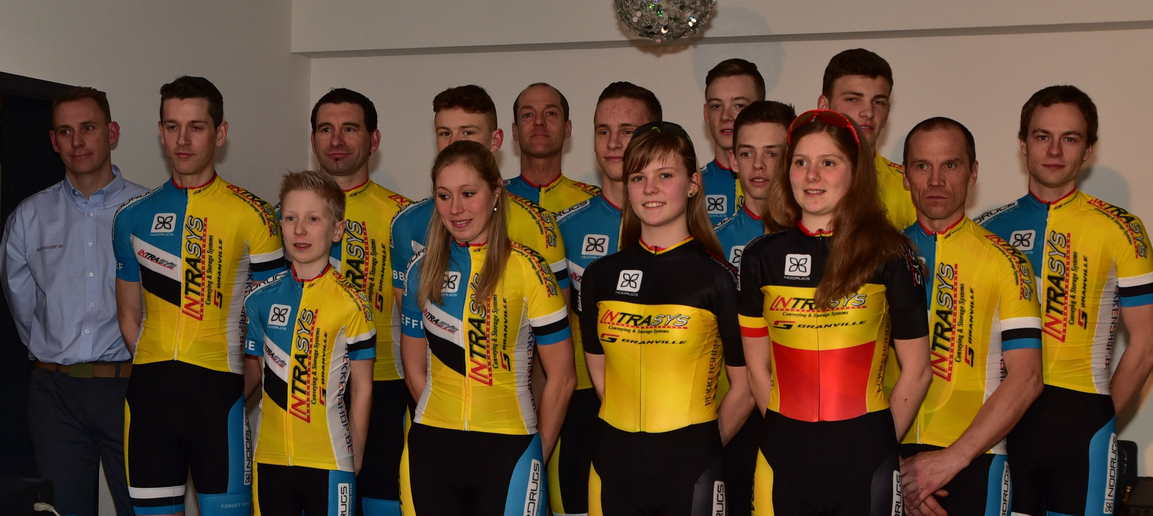 Intrasys No Drugs MTB Dreamteam voorgesteld