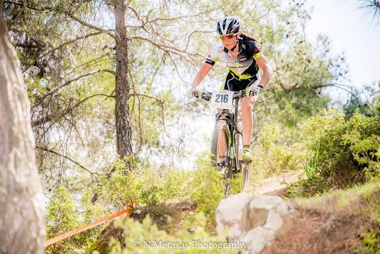 Alice Pirard tevreden over haar Sunshinecup in Cyprus.