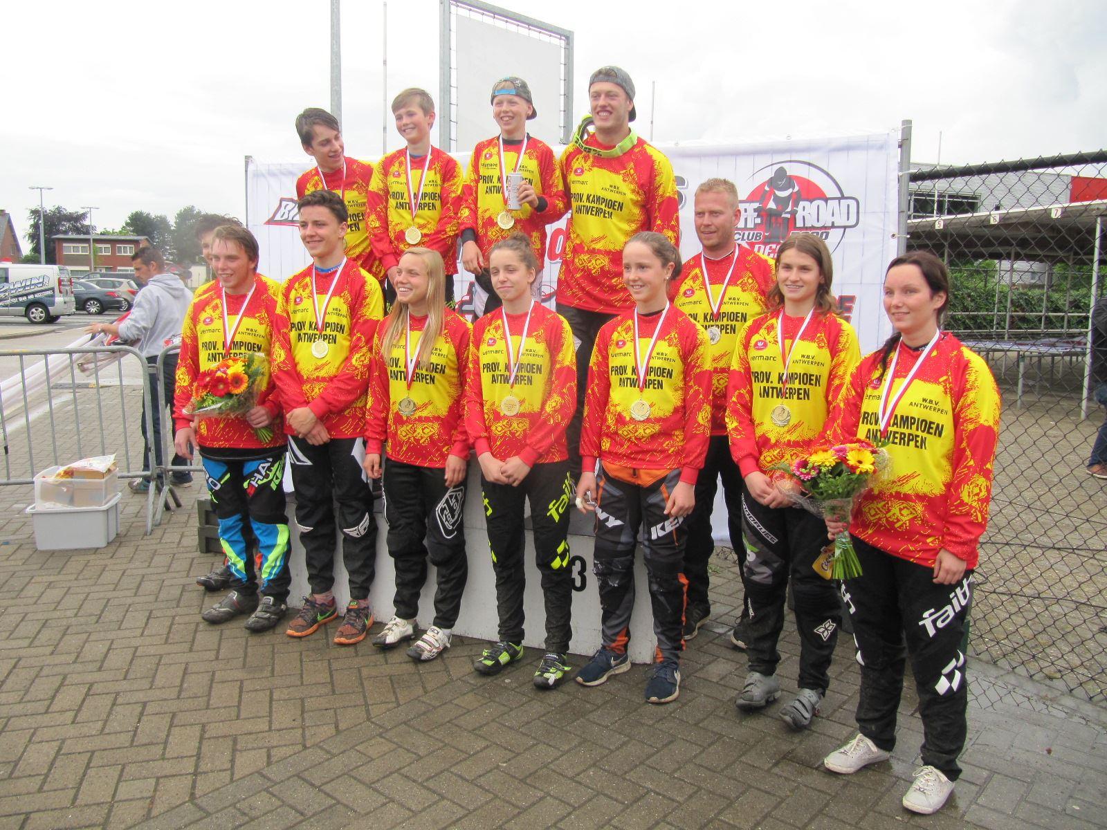 Geslaagde provinciale kampioenschappen BMX in Dessel