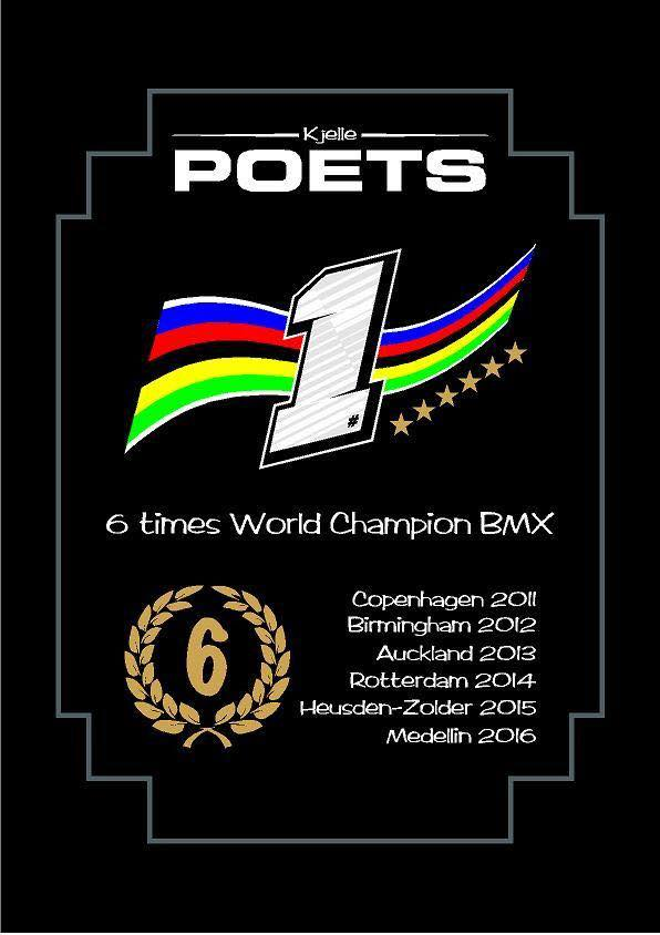 Kjelle Poets pakt voor de zesde keer op rij de wereldtitel in Colombia