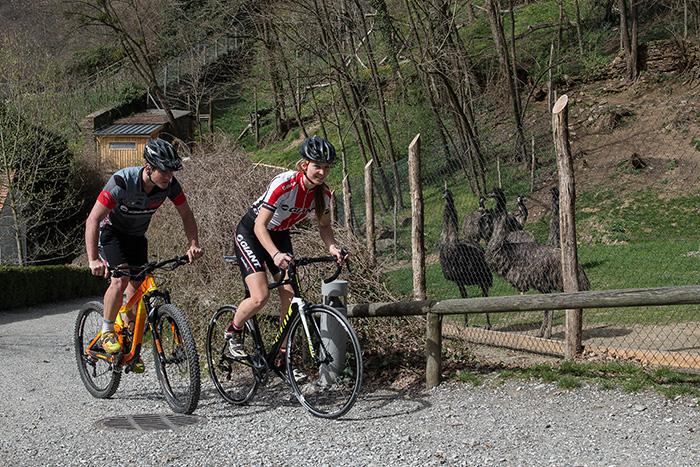Wielrenners en mountainbikers veroveren op 21 en 22 mei het Aphelland bij Stubenbergsee en het dierenpark Herbenstein