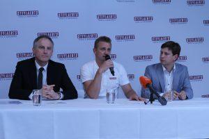 Persconferentie nieuw team Bart Wellens