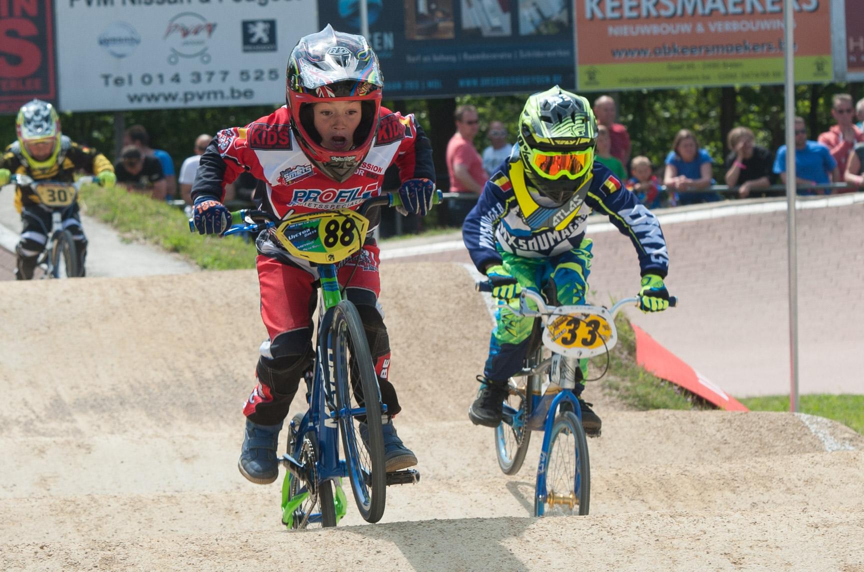 Provinciaal kampioenschap BMX op het JOEL SMETS BMX CIRCUIT in Dessel.