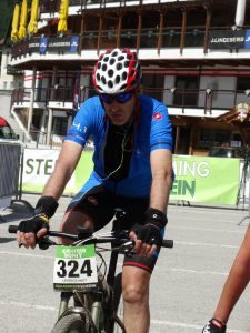 Andy Lepercq dag twee Alpentour