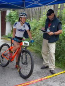 Christina Kollmann start tijdritAlpen Tour Trophy Schladming dag 4 037