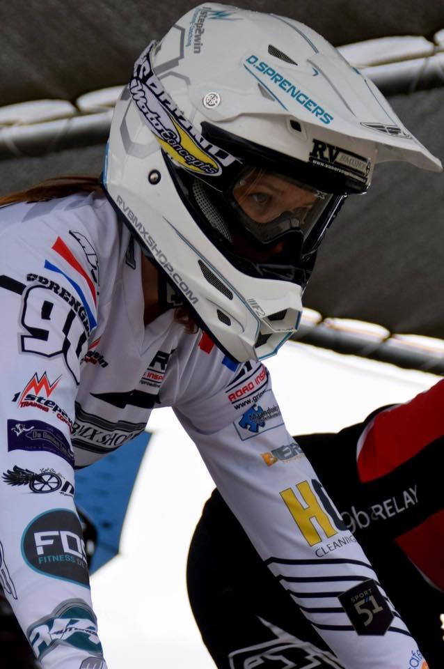 Einde BMX carrière Dana Sprengers