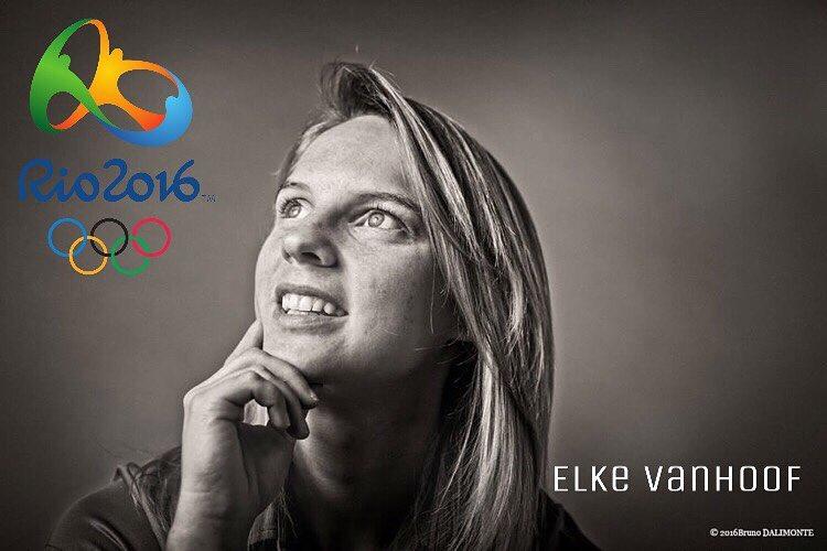 Zesde plaats voor Elke Van Hoof in de timetrail Rio 2016