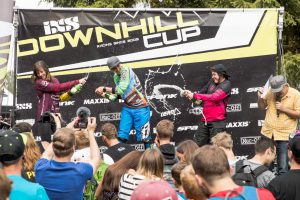 Podium downhillcup