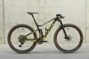 Scott bike Schurter