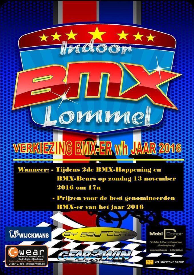 13 november 2016 verkiezing BMX-er van het jaar