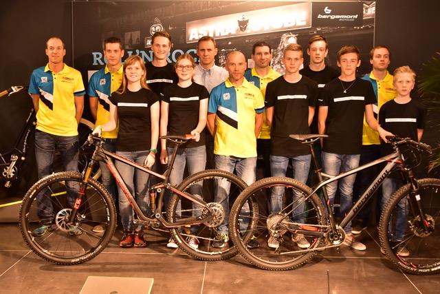 Intrasys- No Drugs MTB Dreamteam rijdt volgend seizoen op Bergamont fietsen