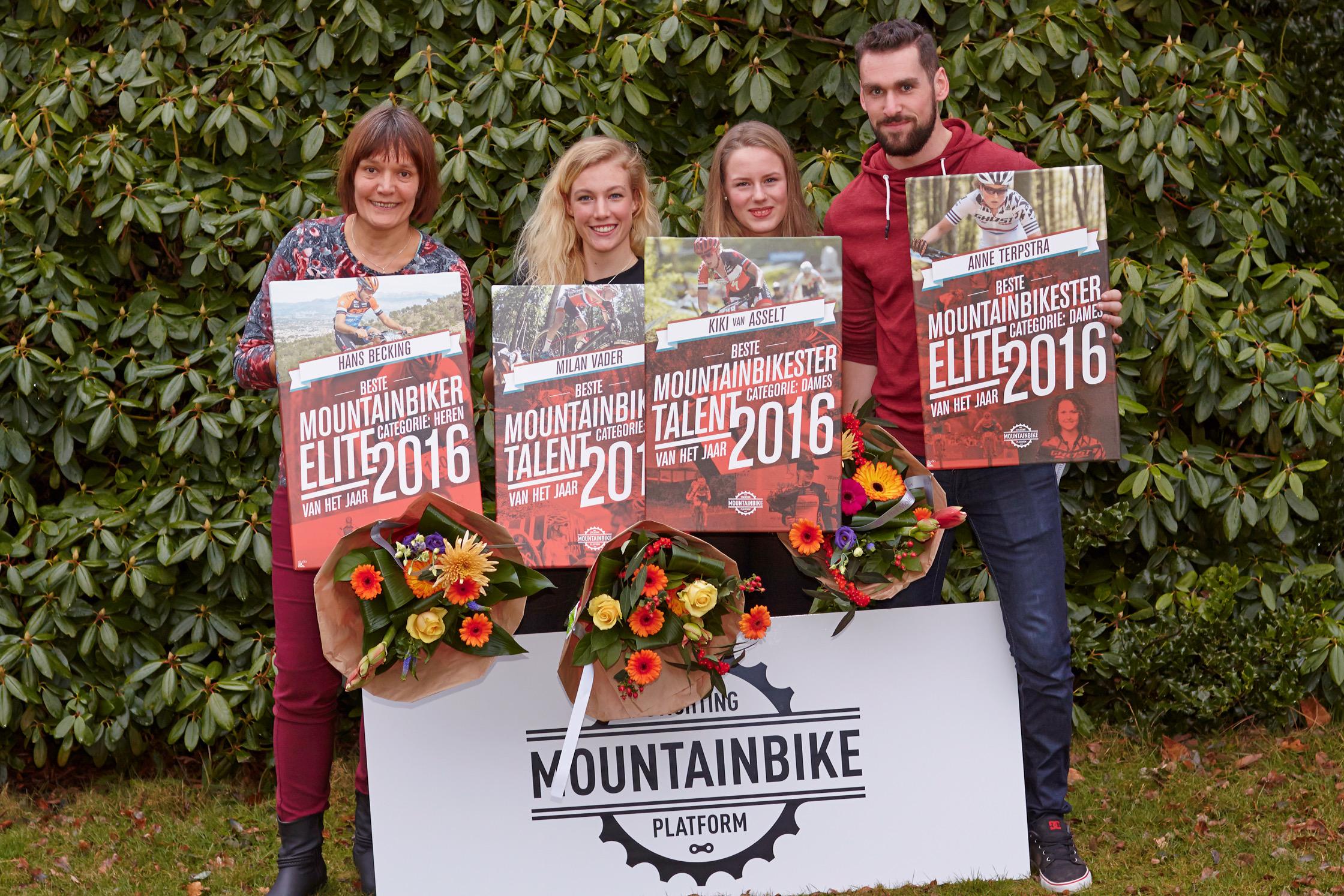 MTB Award voor Becking, Terpstra, Vader en Van Asselt