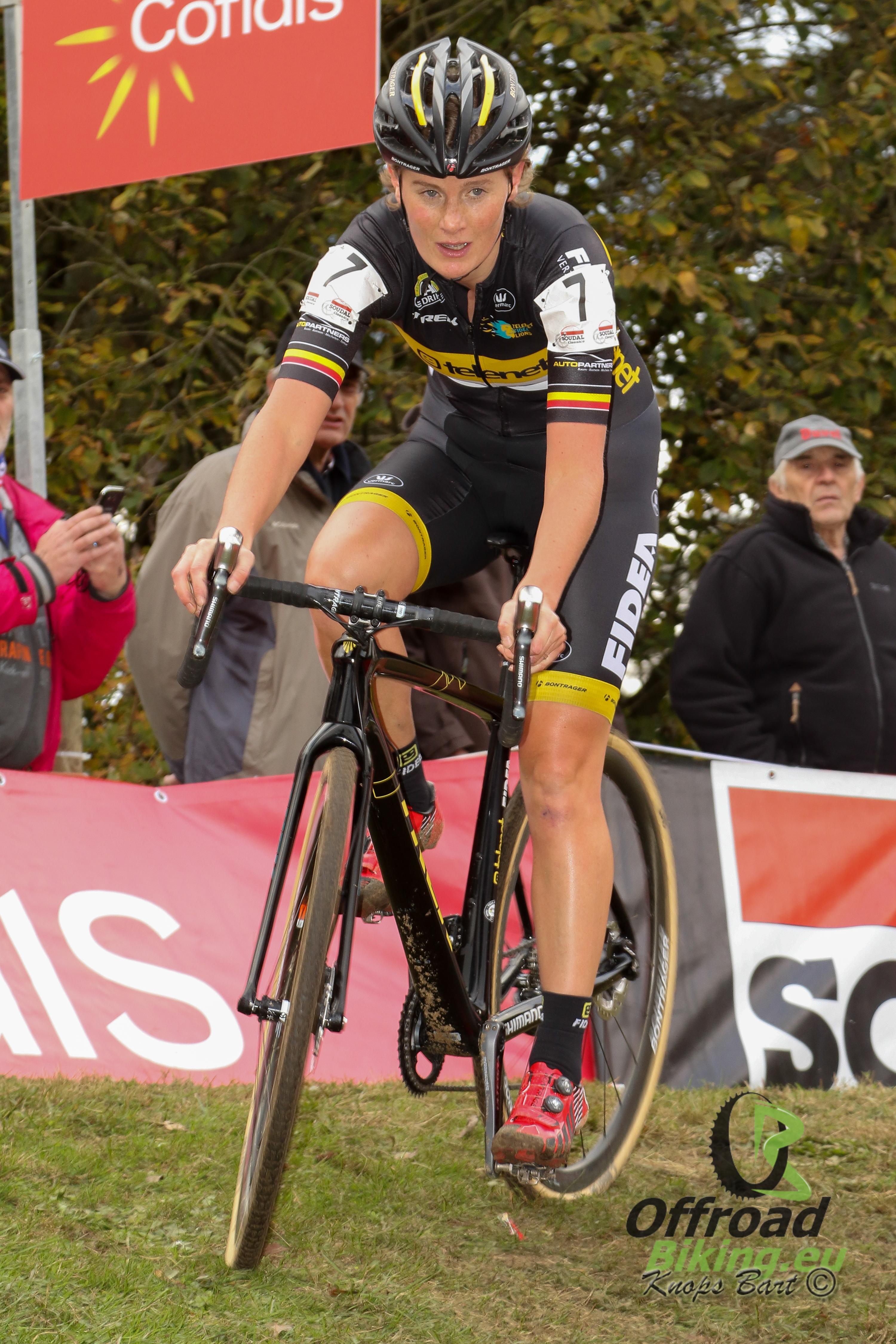 Loes Sels verlaat Telenet Fidea Lions en gaat naar Kalas-H.Essers-NNOF Cycling Team