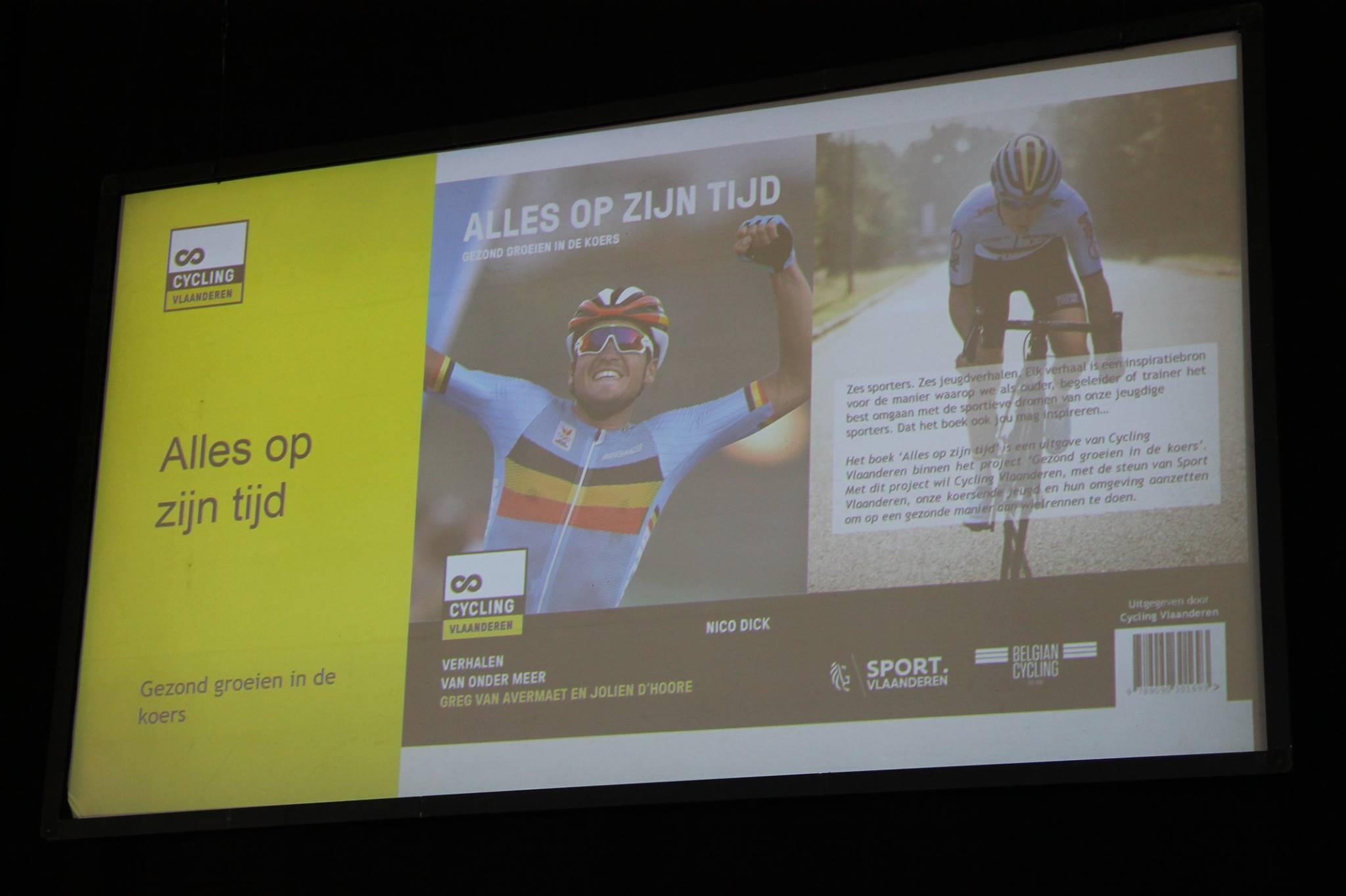 Cycling Vlaanderen onthult nieuwigheden op Velofollies