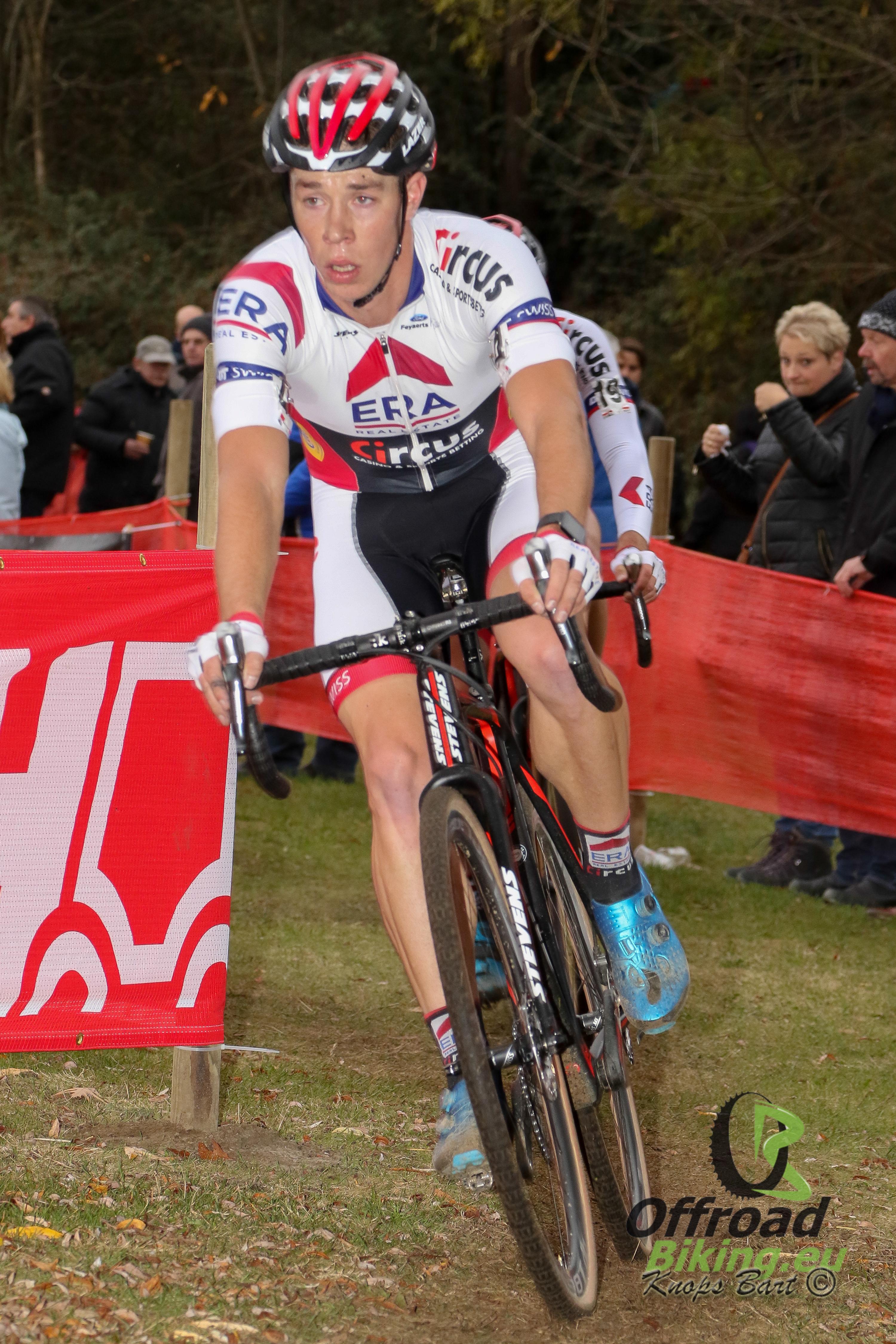 Laurens Sweeck mikt op derde seizoenszege in Neerpelt
