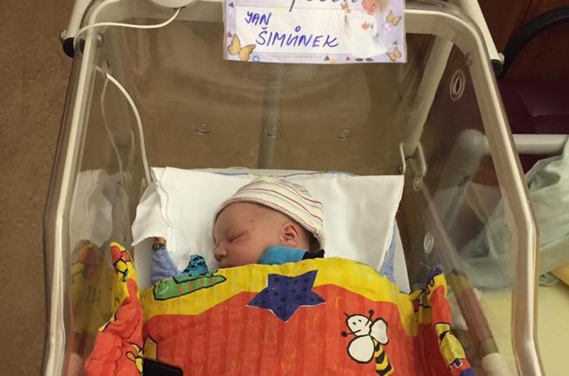 Jan Simunek is geboren!