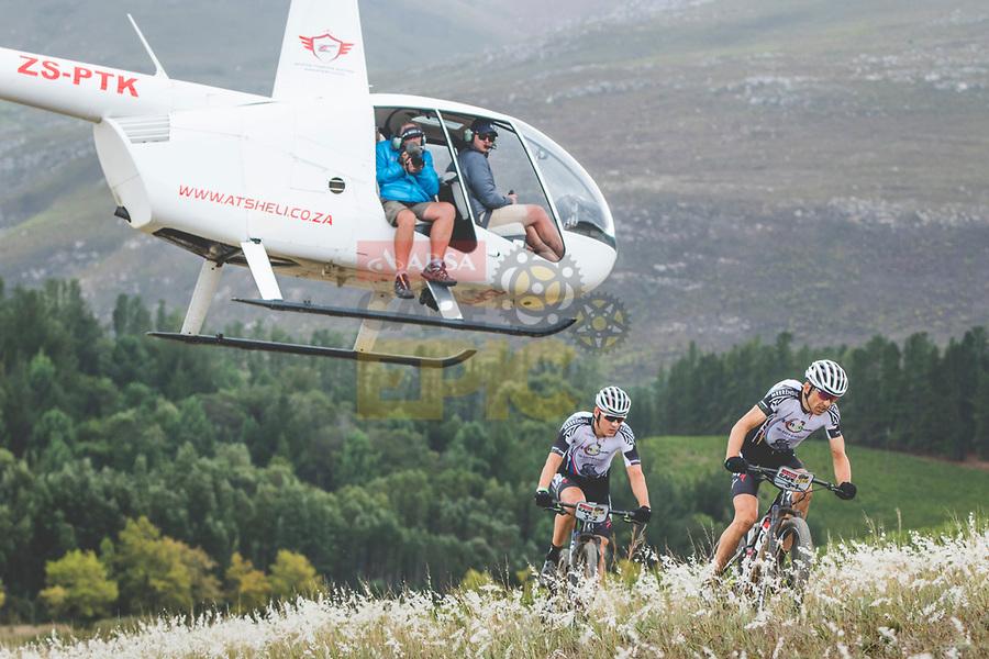 Beeldverslag vijfde rit Cape Epic