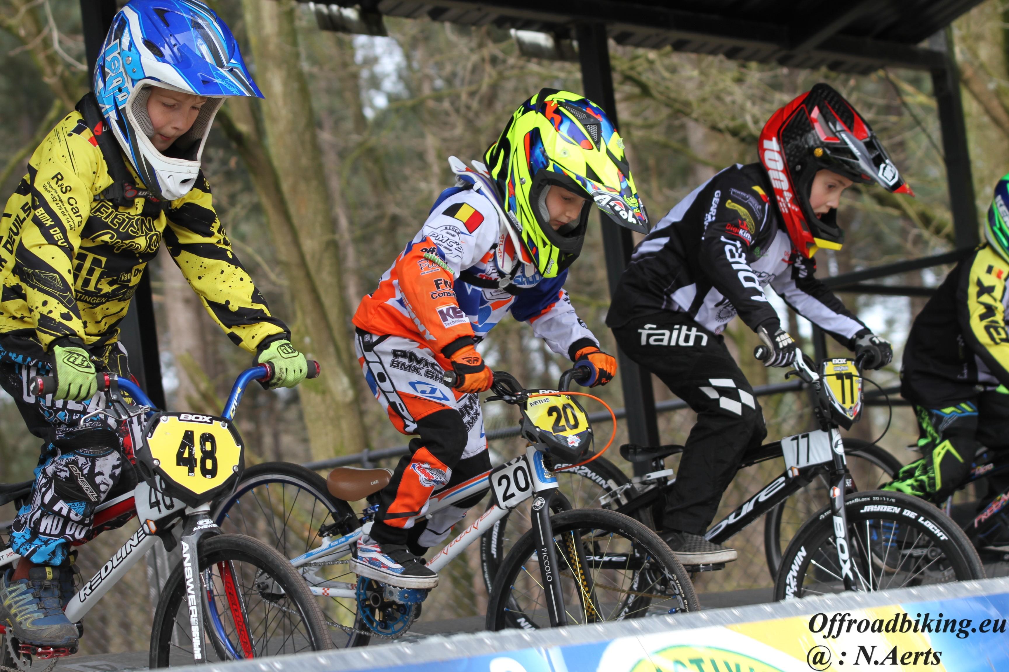PMC Cycling doet het goed tijdens TC 1 Ravels
