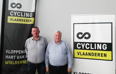 Nieuwe voorzitter en secretaris Cycling Vlaanderen