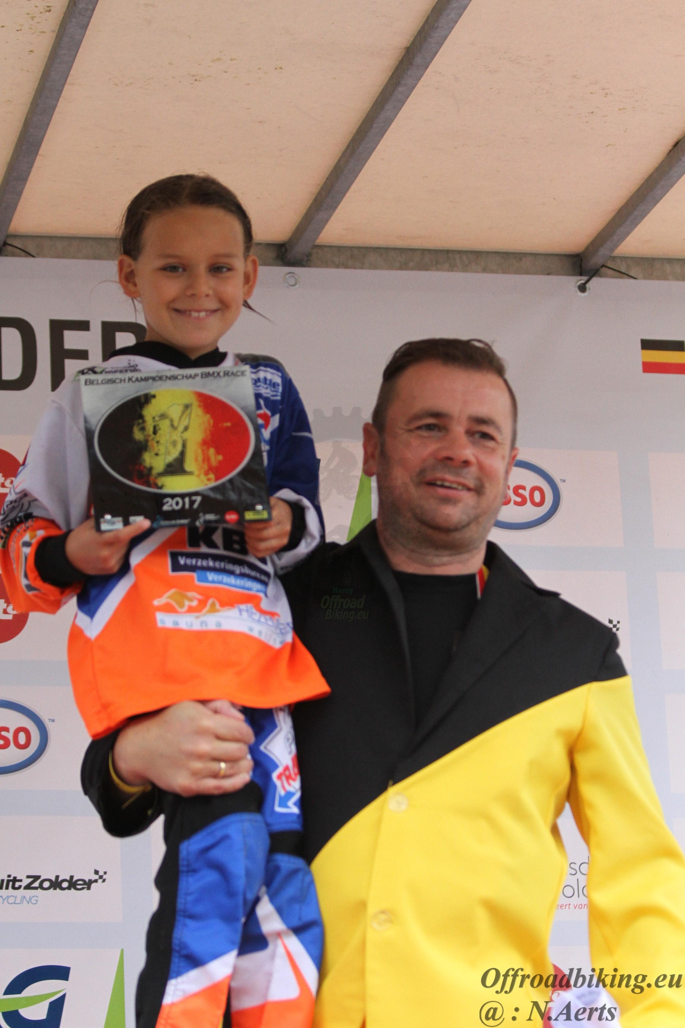 Belgische Titel voor Anouck Verweij PMC Cycling
