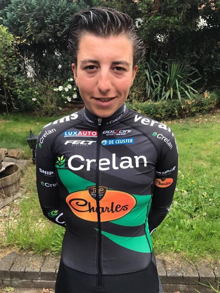 Maud Kaptheijns tekent tweejarig profcontract bij Veranda's Willems-Crelan-Charles Pro Cycling