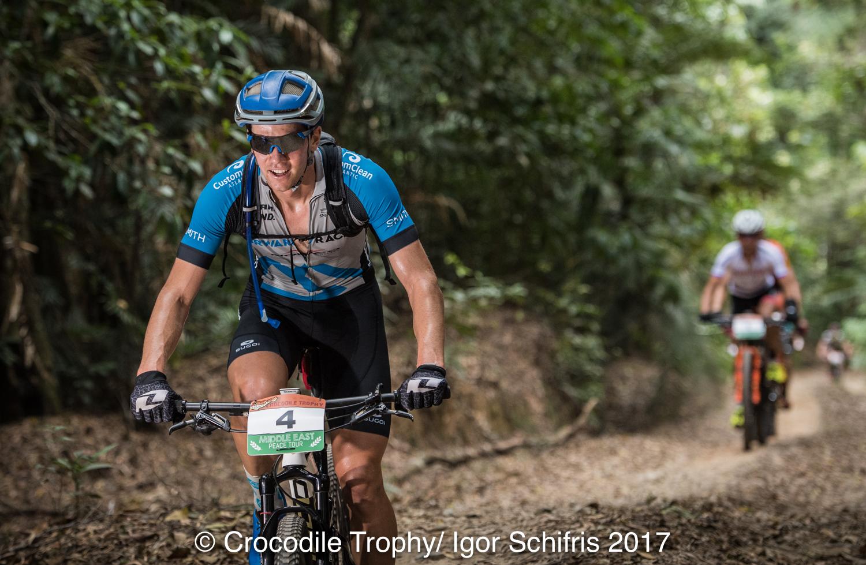 Andrew L'Esperance pakt zesde rit Crocodile Trophy