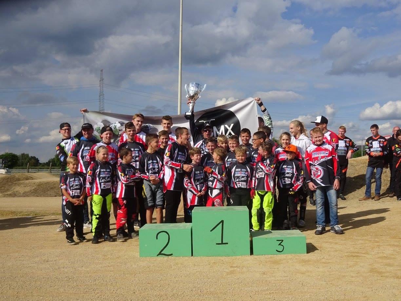 BMX 2000 DESSEL wint Vlaams kampioenschap voor clubs