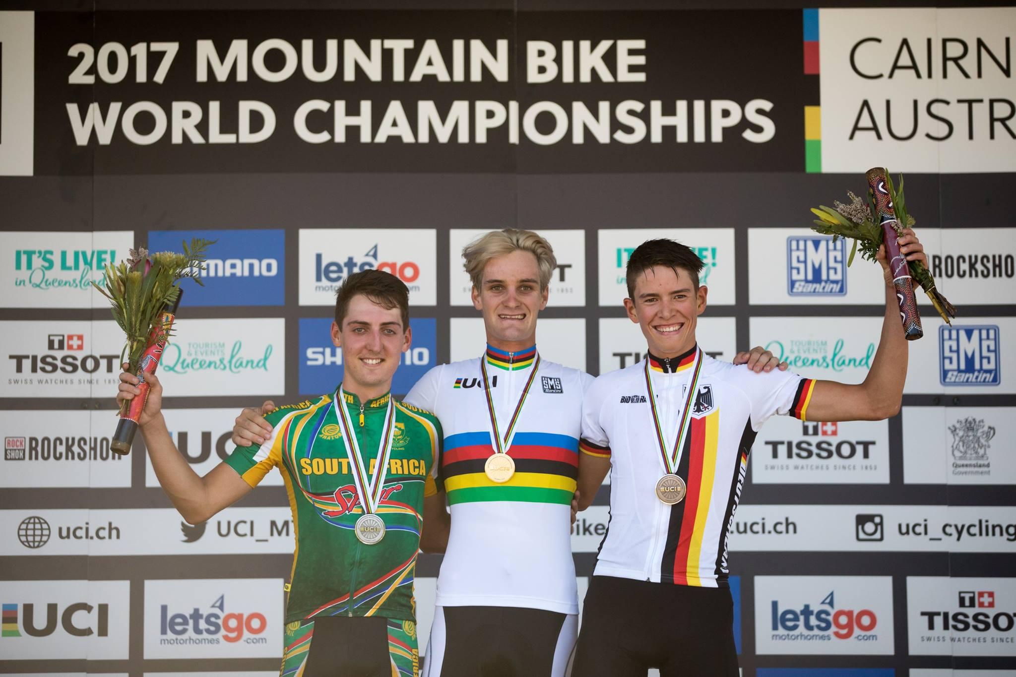 Sam Gaze volgt zichzelf op als wereldkampioen beloften