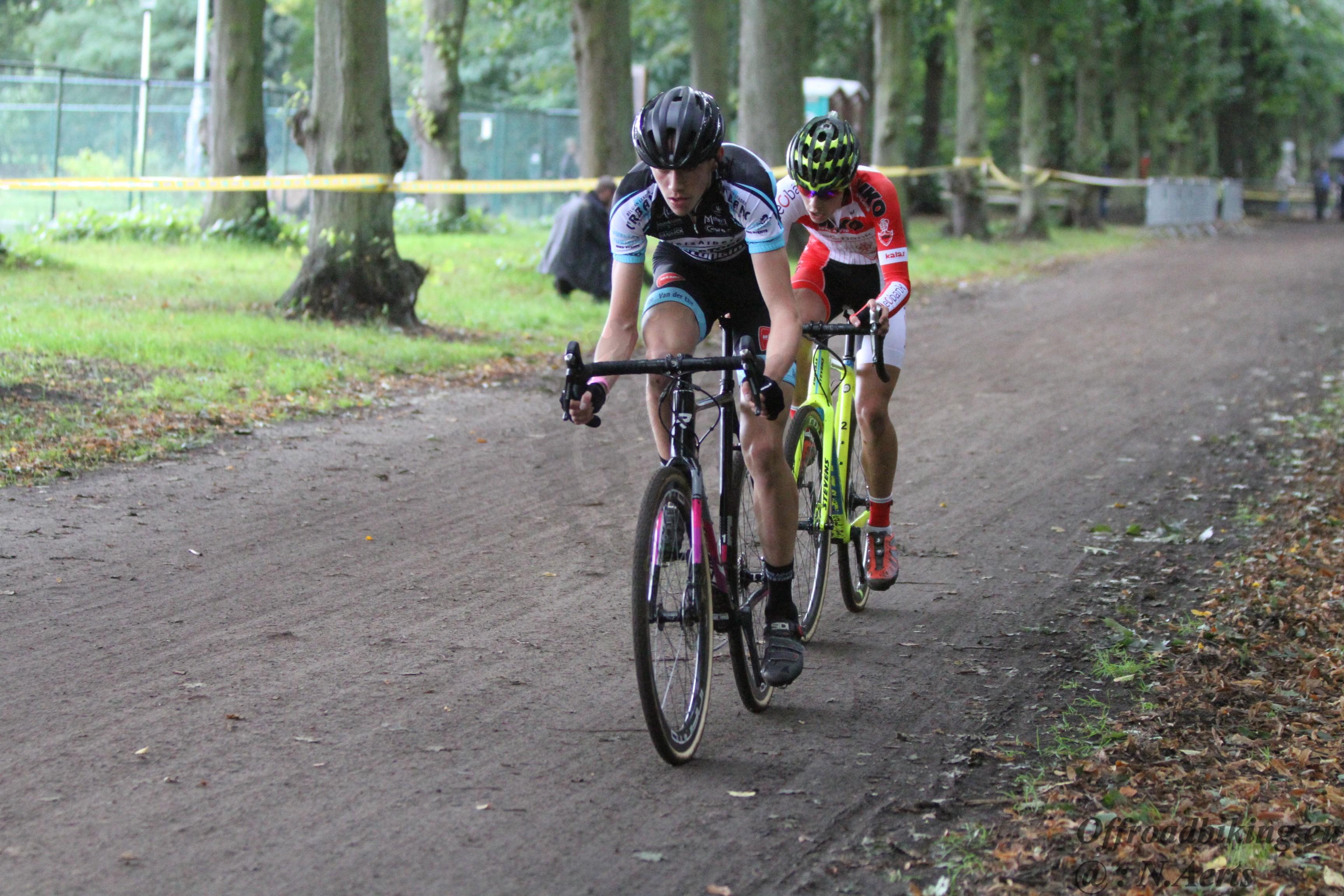 Jarno Bellens pakt de Antwerpse titel bij de junioren in Vorselaar