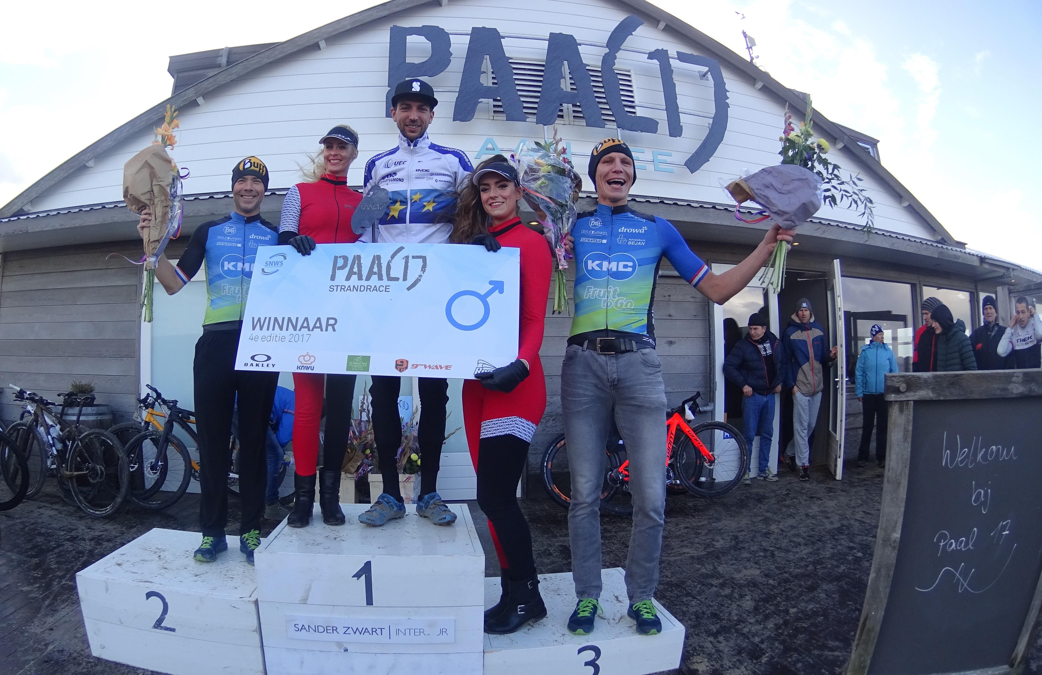 Bekkenk en Rood op podium, Ockeloen wint in Texel