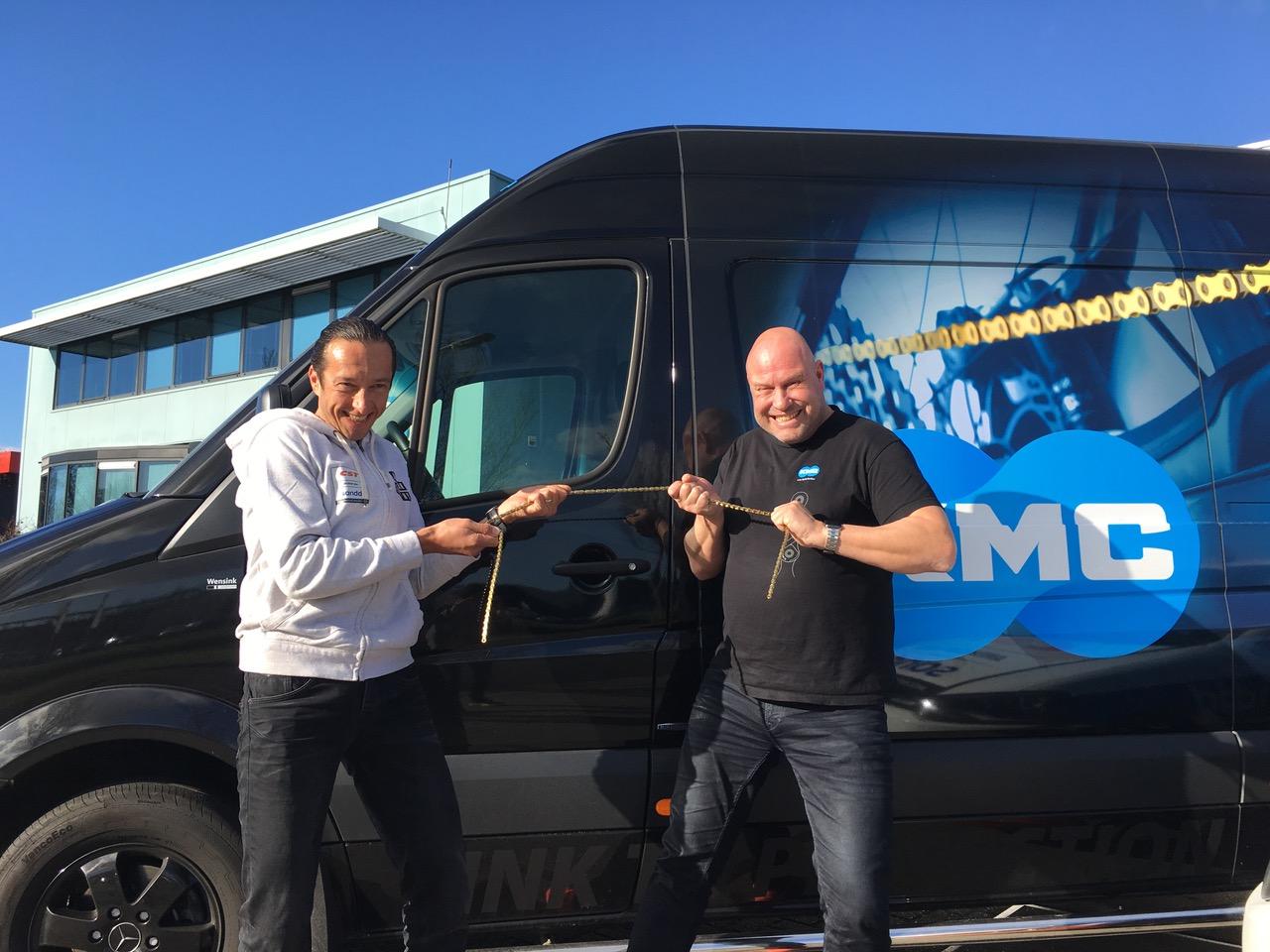 KMC bestendigt haar partnerschap met CST Sandd American Eagle MTB Racing Team