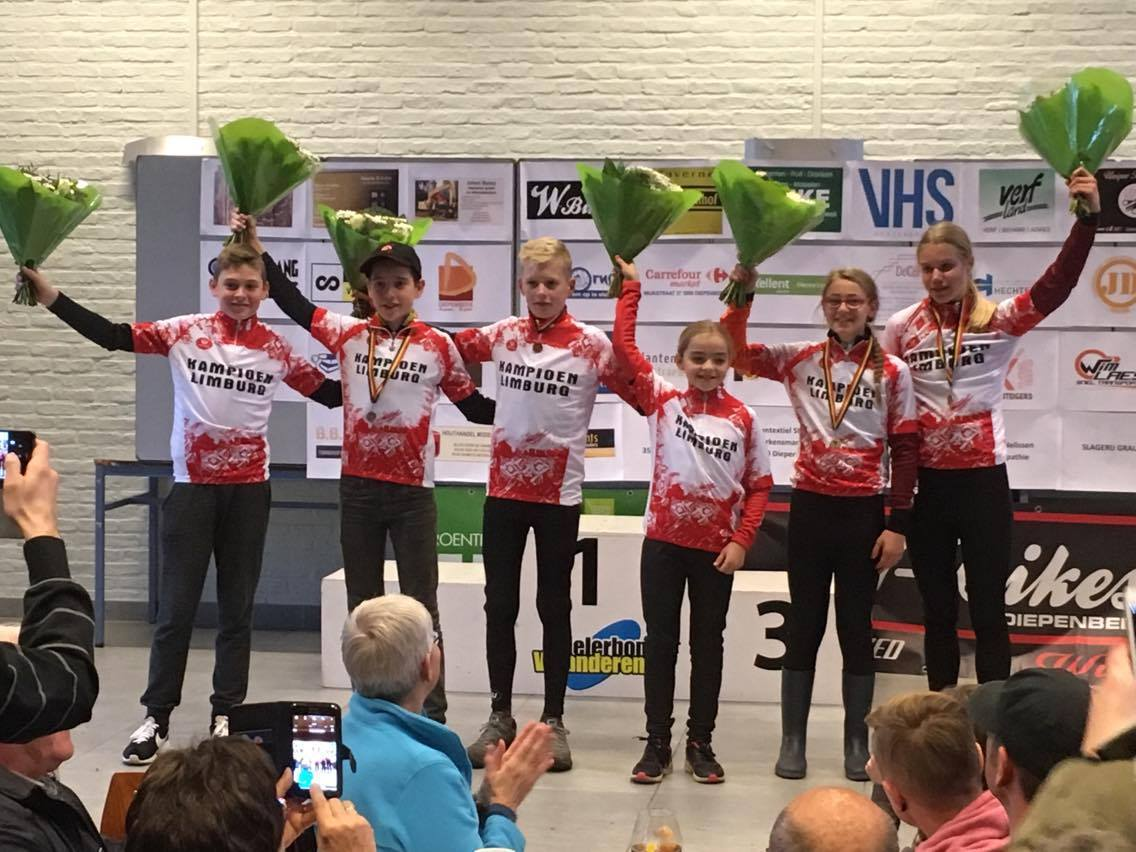Limburgse kampioenen 2017-2018 Aspiranten