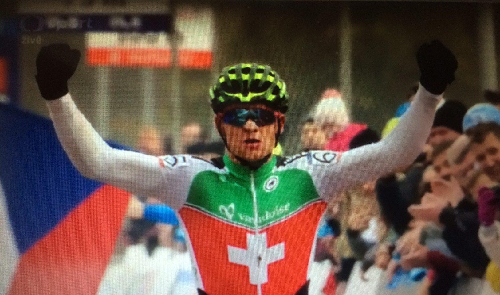 Loris Rouiller Europees kampioen junioren