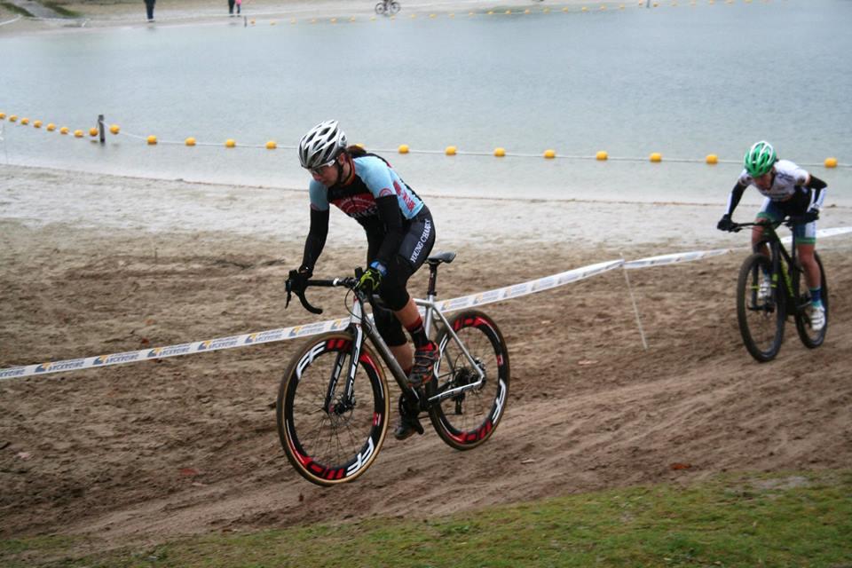 Kristien Nelen wint veldrit in Breda