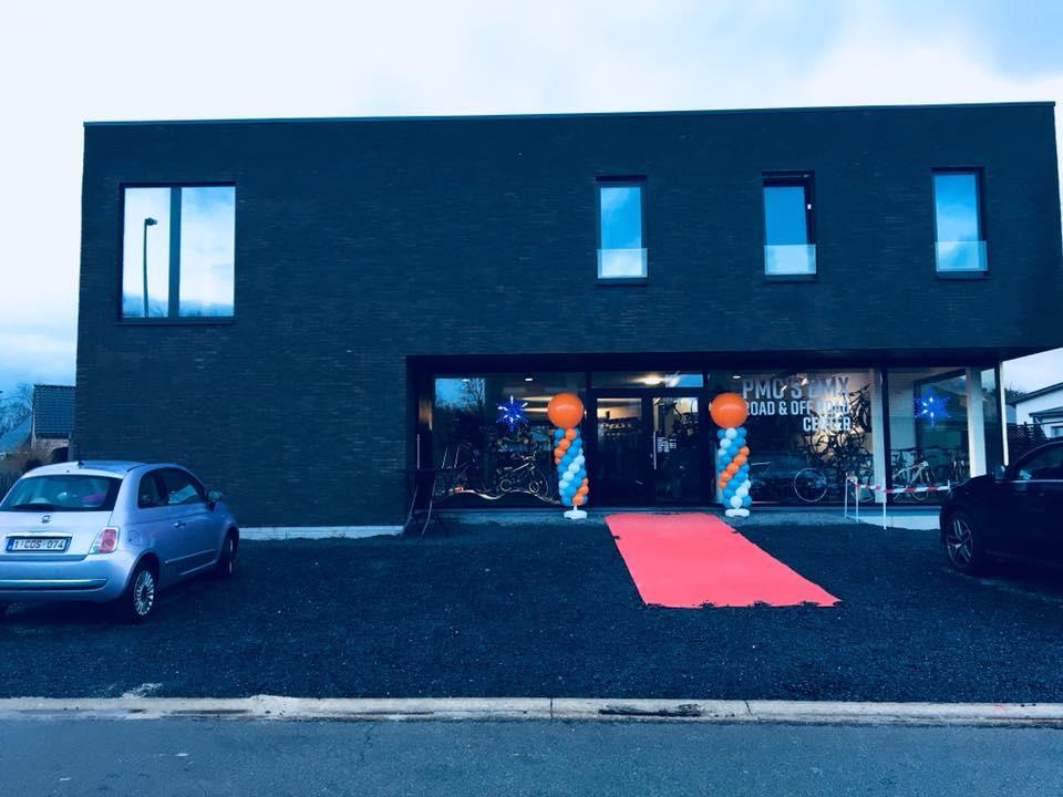 PMC's BMX Road&Offroad center is plechtig geopend op 16-17 december 2017