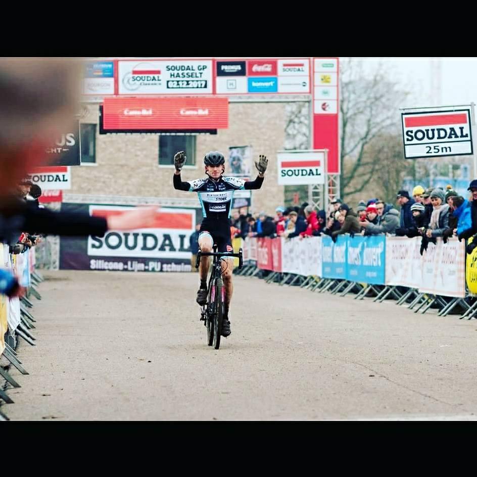 Jarno Bellens pakt winst in GP Hasselt en een derde plaats in Mol