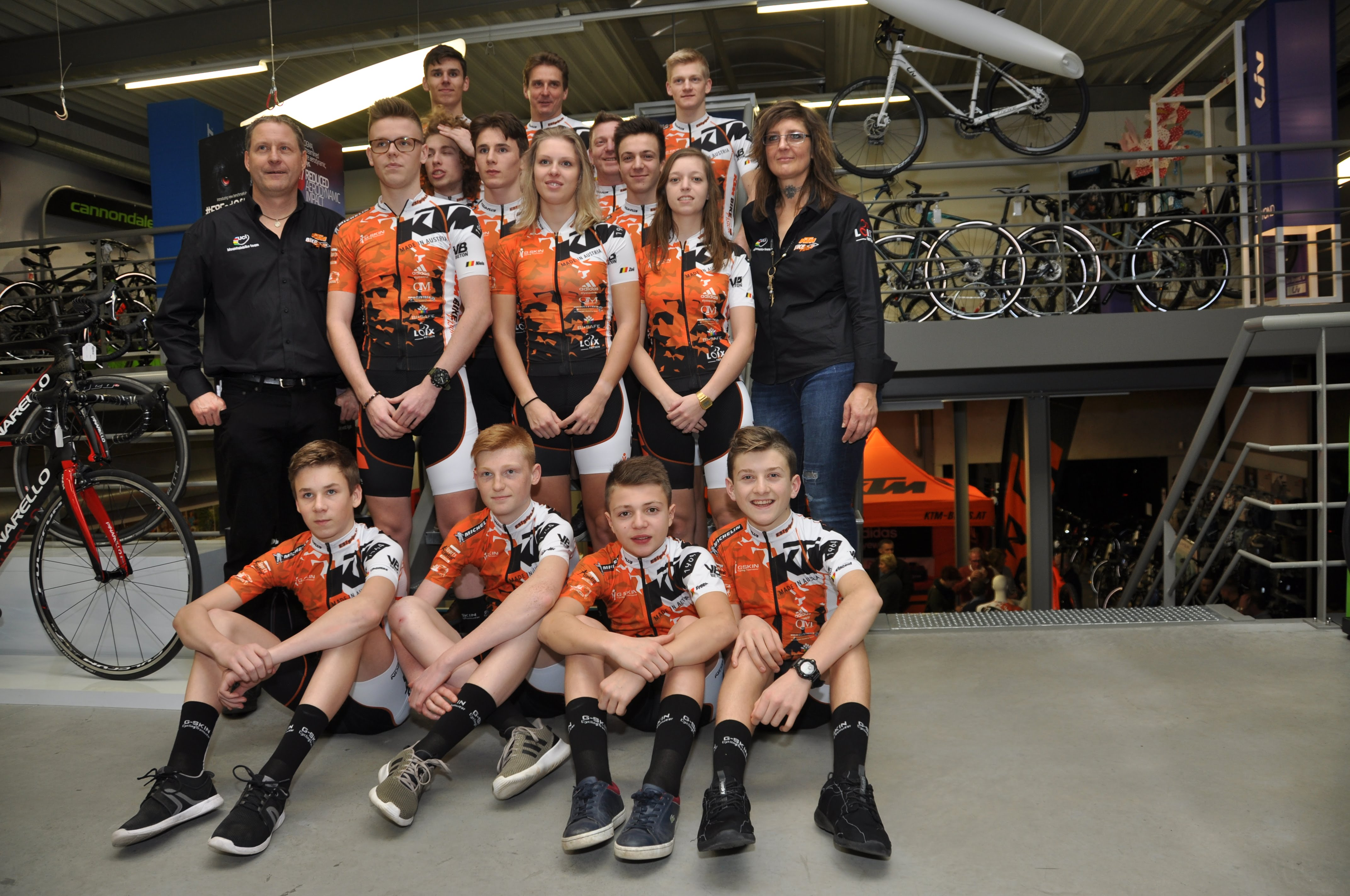 KTM Bike Vision UCI MTB team voorgesteld in Brustem