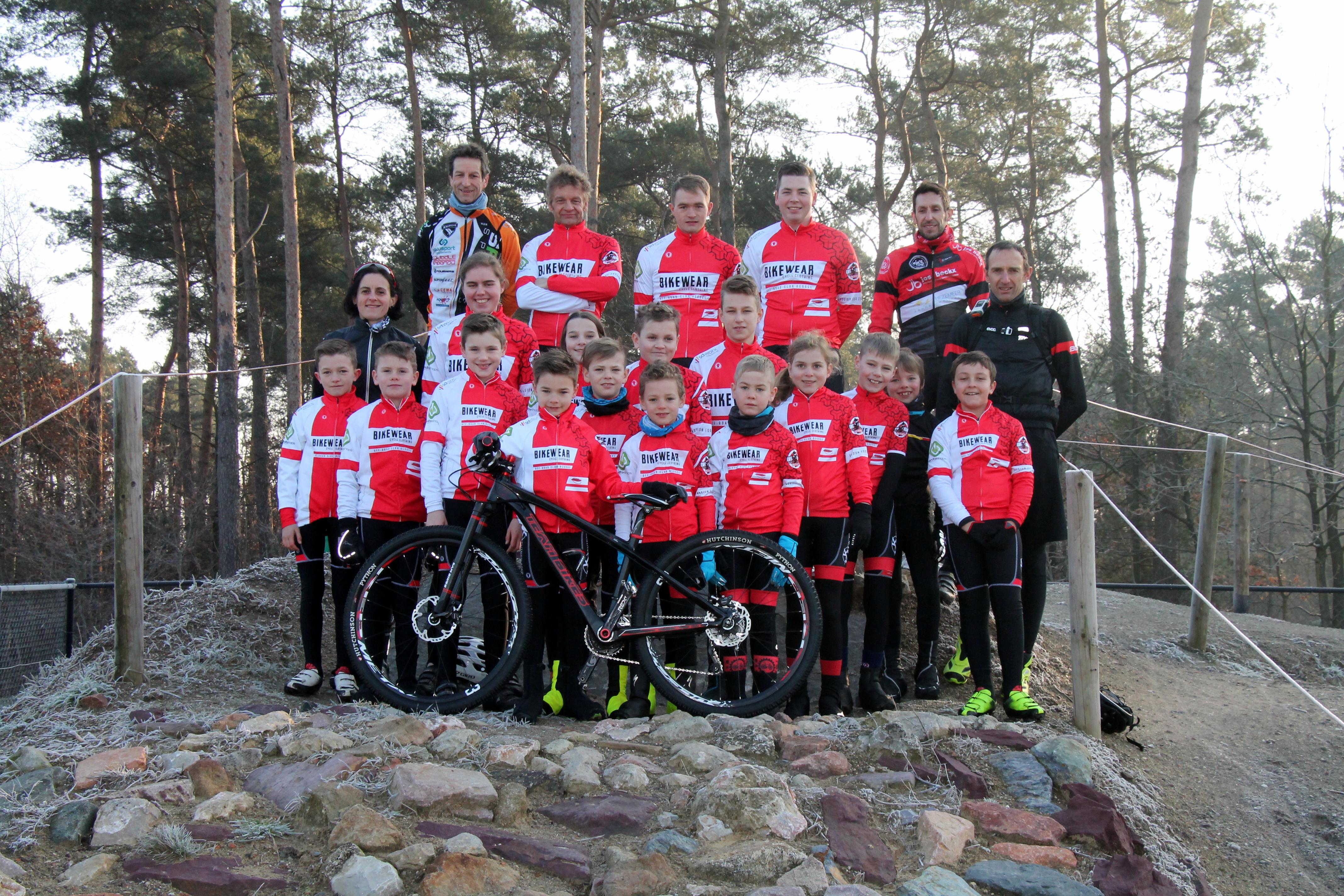 Mountainbike wedstrijden in Dessel op 4 maart
