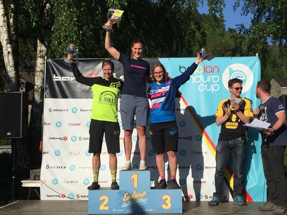 Kristien Nelen blikt terug op haar enduro-en marathonweekend