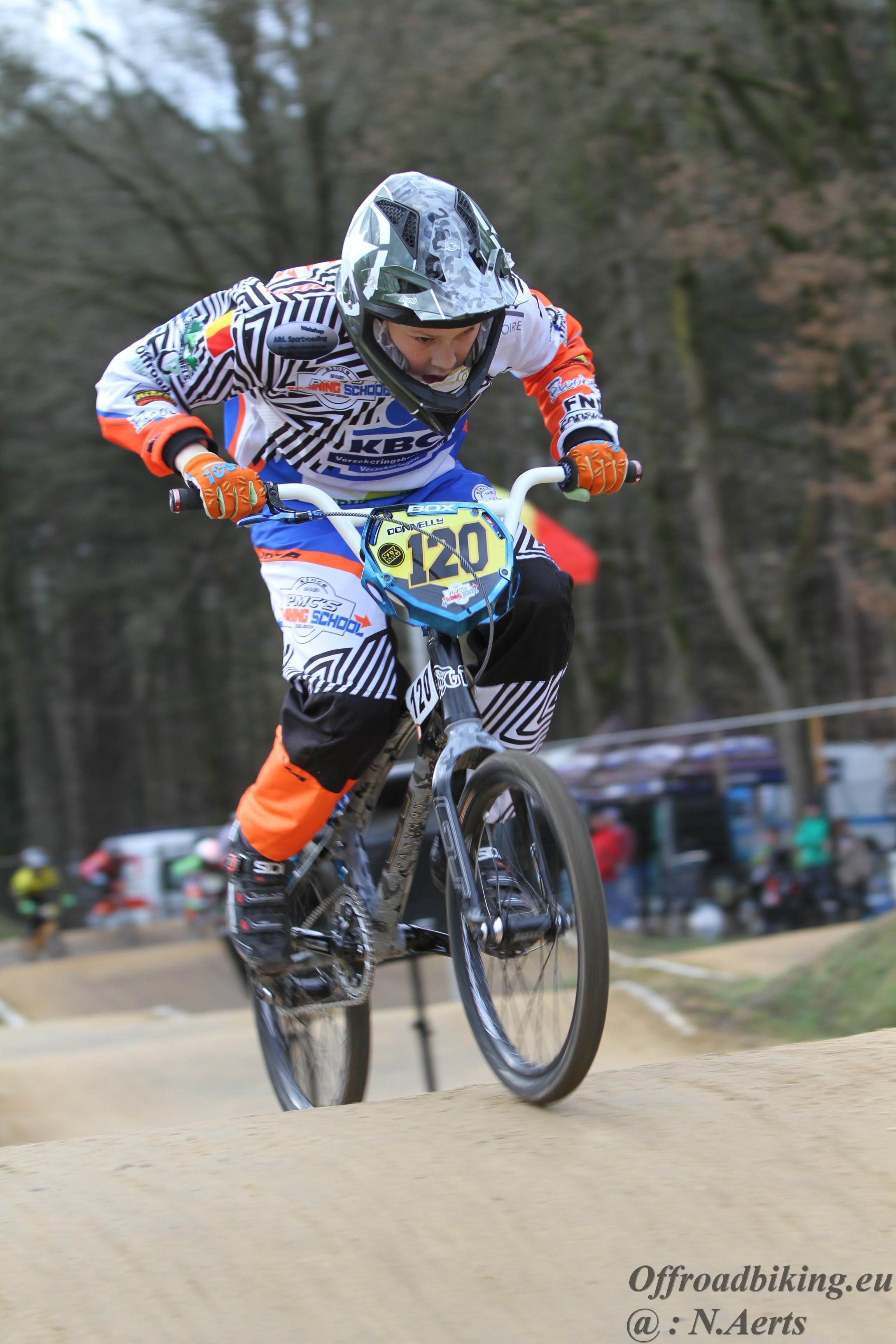 Donnelly Lambrichts haalt finale op Supercross in Zolder