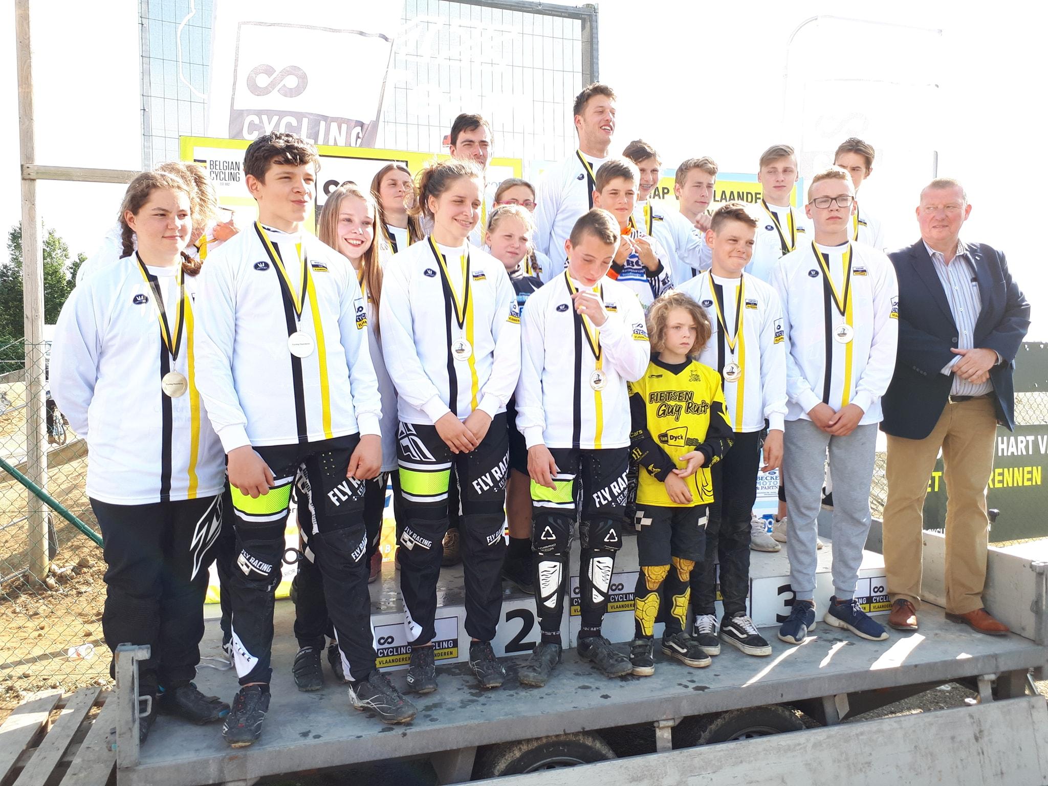 12 finalisten en 1 Vlaams kampioen voor PMC Cycling in Aarschot