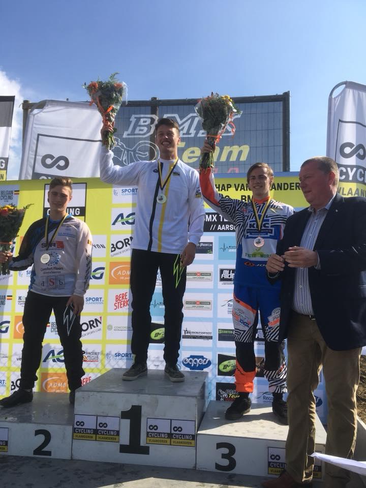 Vijf overwinningen op het kampioenschap van Vlaanderen voor BMX2000 Dessel