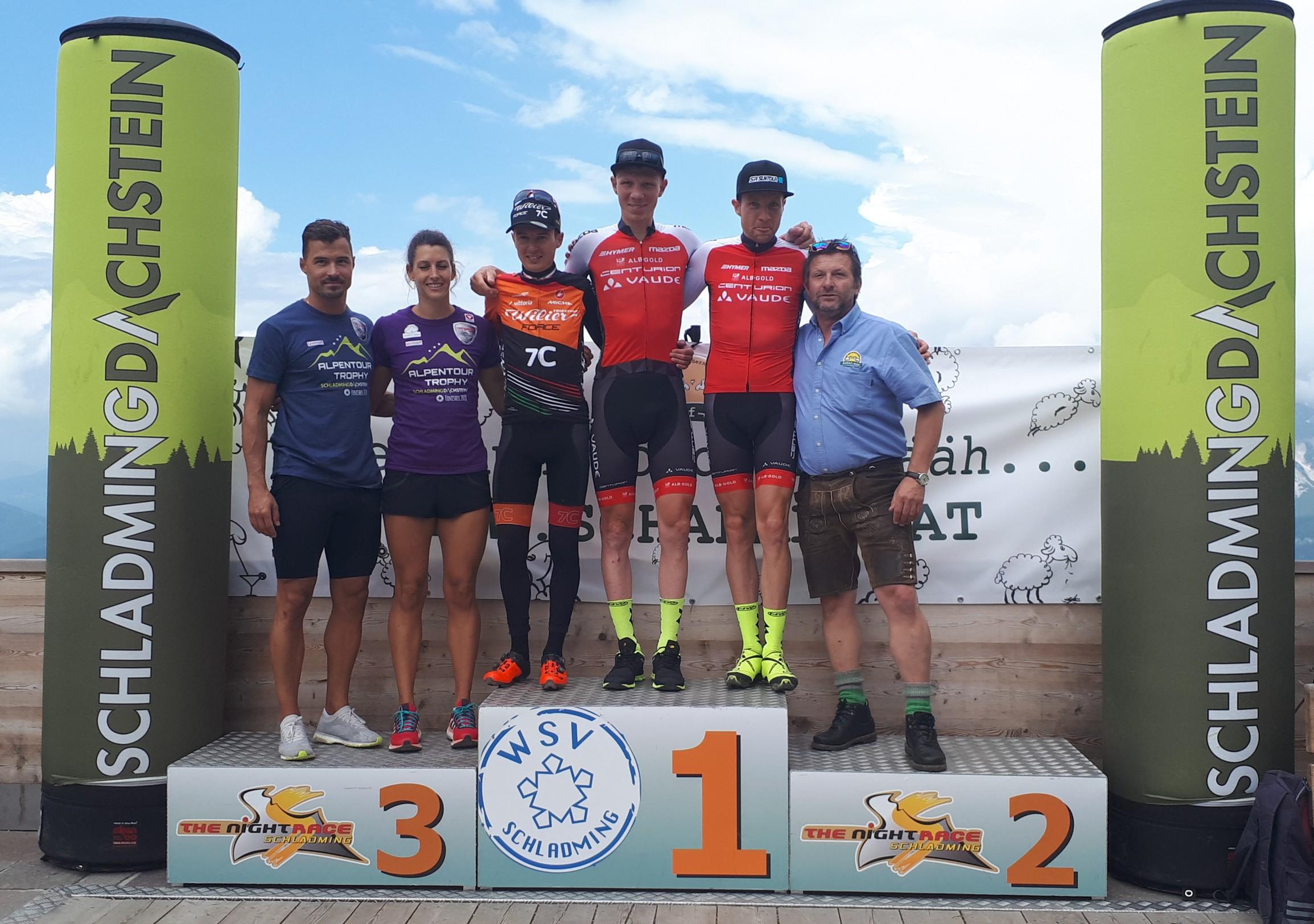 Derde eindzege voor Tony Longo en Christina Kollman-Forstner in Alpentour Trophy