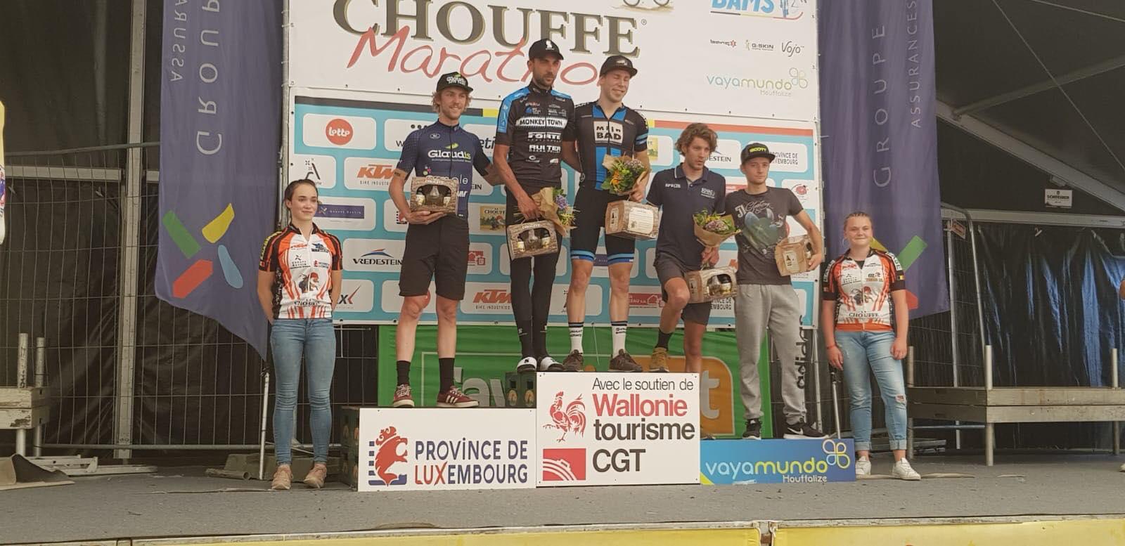 Nederland boven tijdens Chouffe Marathon