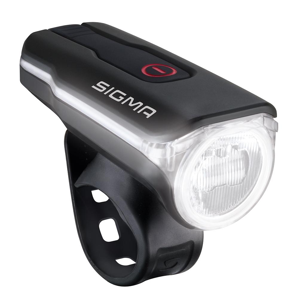 dankzij de hoogwaardige led lens biedt de aura 60 een zeer gelijkmatige lichtverdeling en een optimaal zicht veraf dichtbij en zijwaarts zonder daarbij
